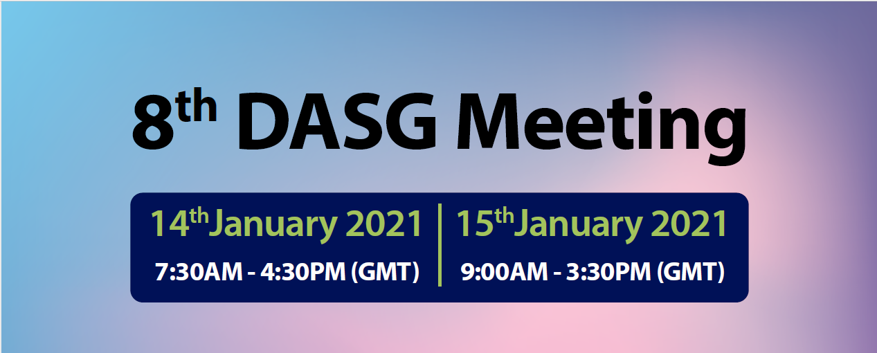8th DASG Meeting
