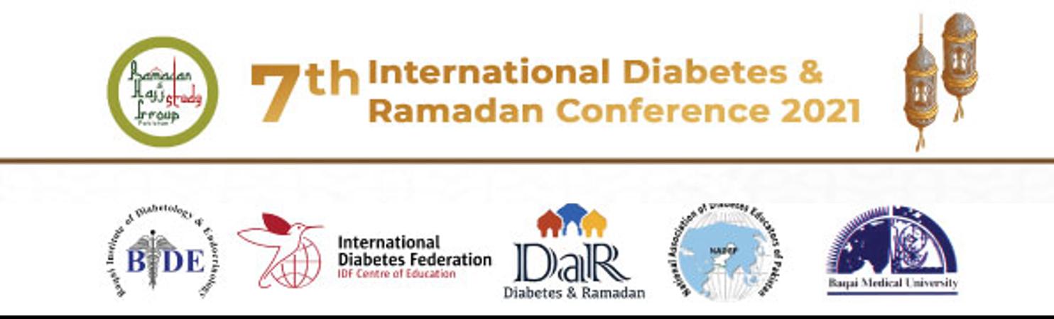 7th International Diabetes and Ramadan Conference (IDRC 2021)
